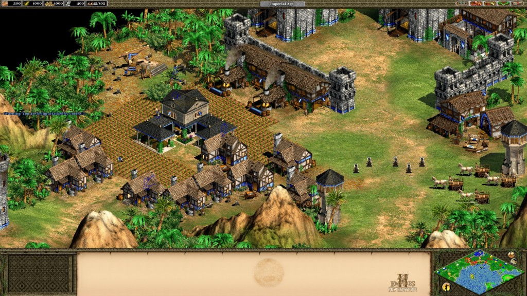 AoE screenshot