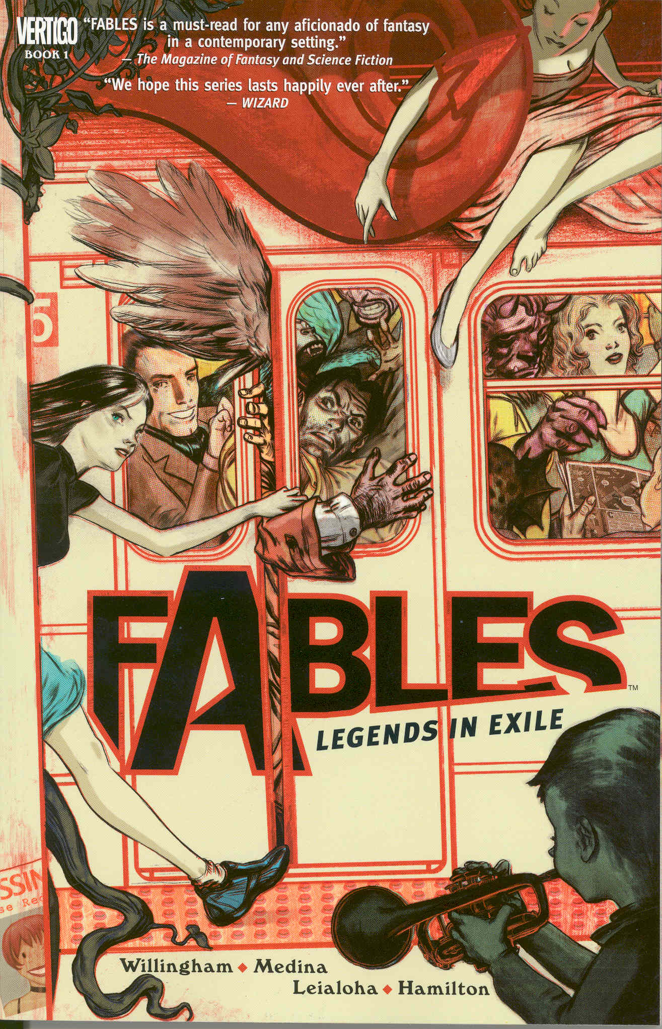 Book Cover Graphism Novels ~ Fables by bill willingham pop verse