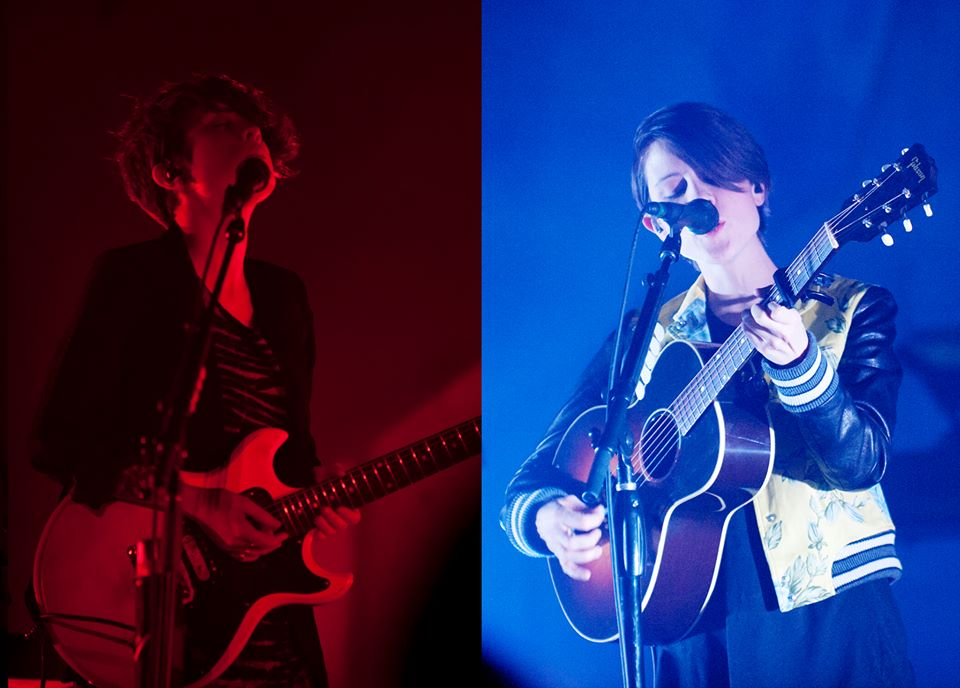 tegan and sara split screen