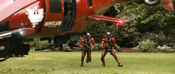 Elysium robots