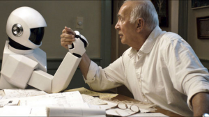 Robot and frank arm wrestle