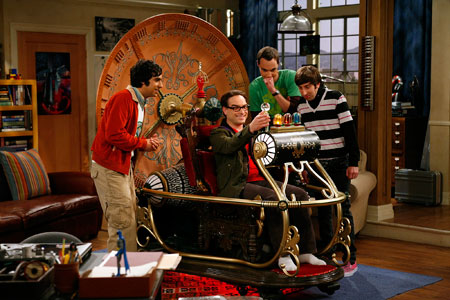 big bang theory time machine