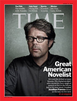 TIME Magazine Jonathan Franzen cover