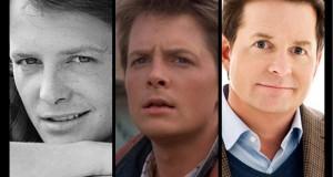 Michael J Fox through the years