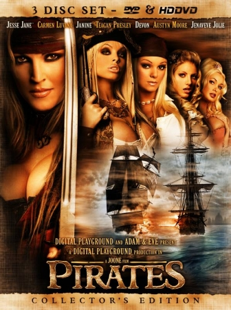 Pirates XXX 2005 DVD Cover