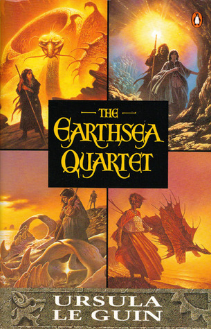The Earthsea Quartet book cover