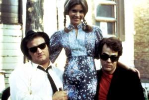 Carrie Fisher, Dan Akroyd, John Belushi
