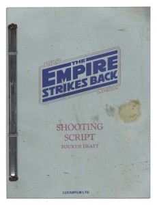 empire strikes back shooting script