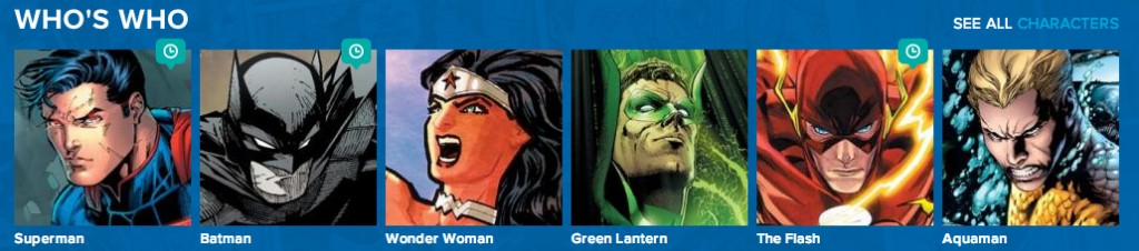 DC characters