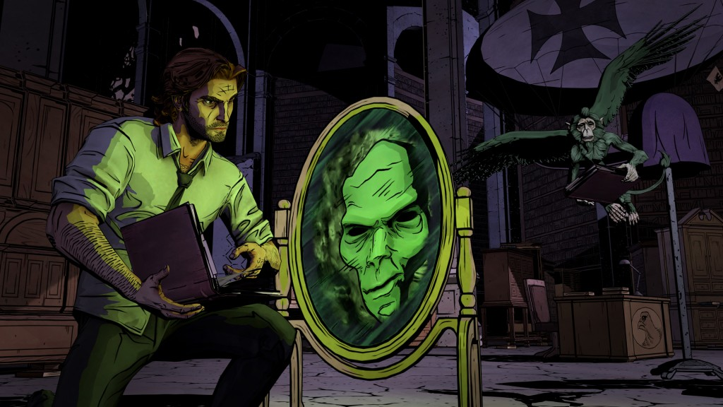 bigby and the magic mirror