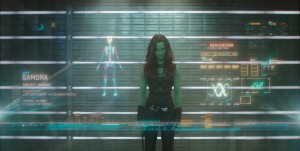 Marvel's Guardians Of The GalaxyGamora (Zoe Saldana)Ph: Film Frame©Marvel 2014