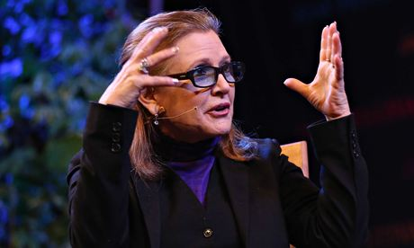 Carrie Fisher at Hay Festival
