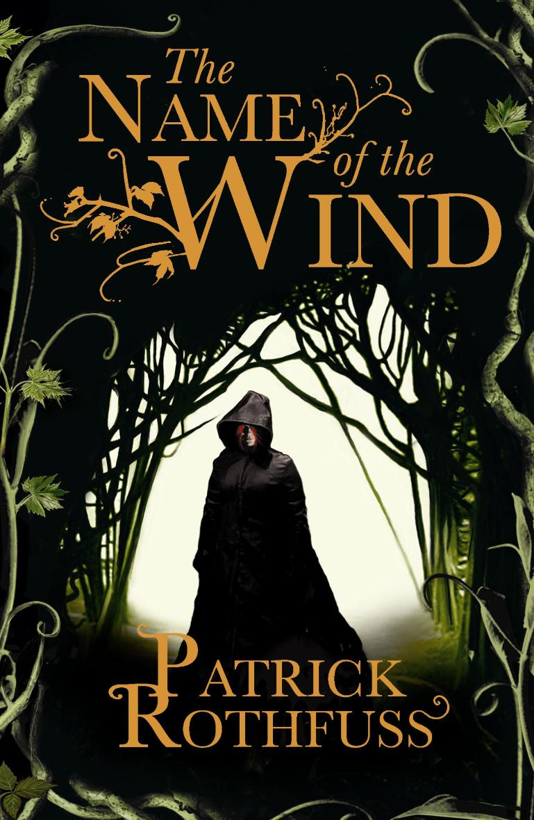 Book Cover For Series : The name of wind you have to be a bit liar