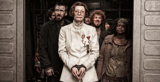 Chris-Evans-Tilda-Swinton-and-Octavia-Spencer-in-Snowpiercer