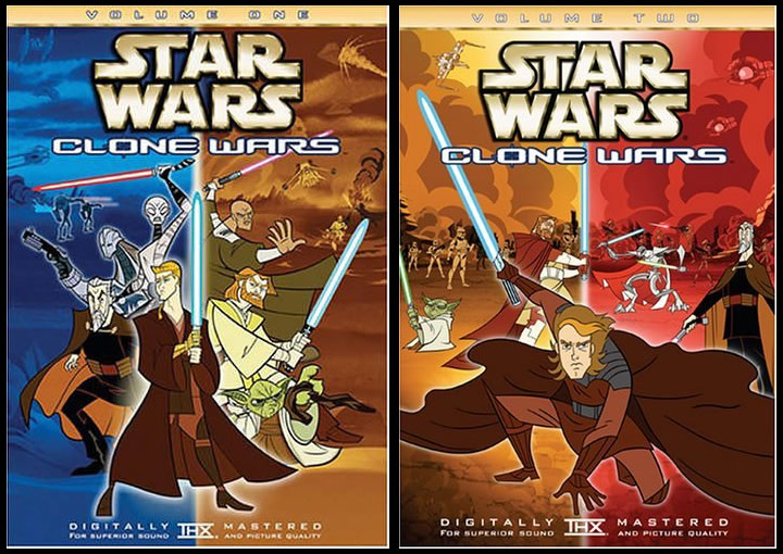 Star Wars The Clone Wars Original Series Volume 1-2