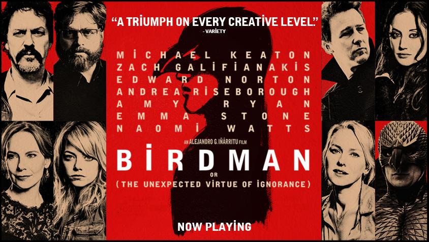 Birdman or (The Unexpected Virtue of Ignorance)   Pop Verse  Birdman or (The...