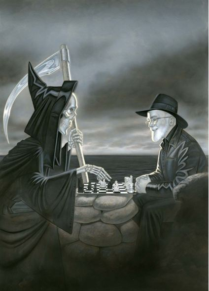 by Discworld illustrator Paul Kidby (Artwork copyright Paul Kidby, http://www.paulkidby.net)