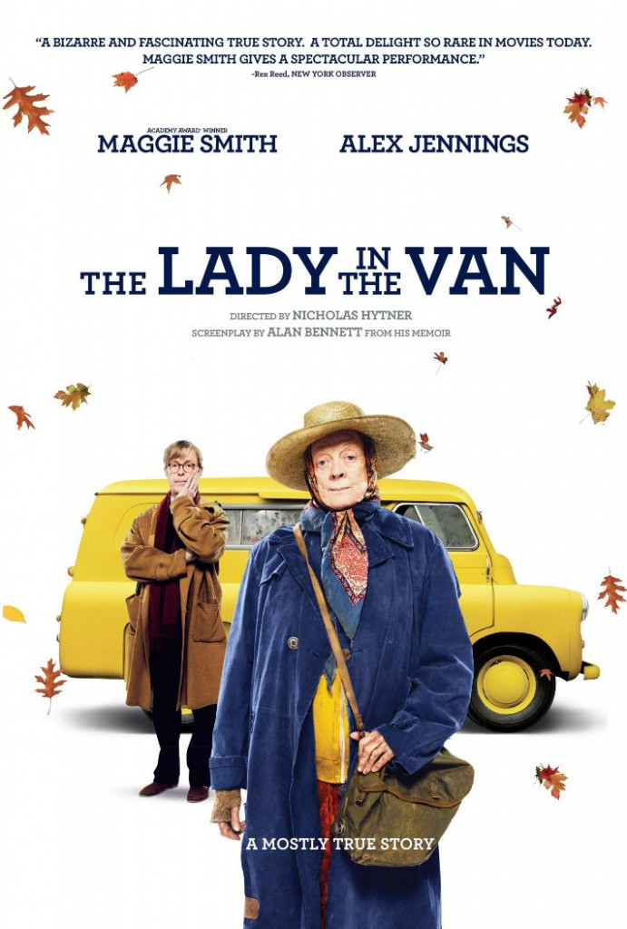 Lady in Van Poster