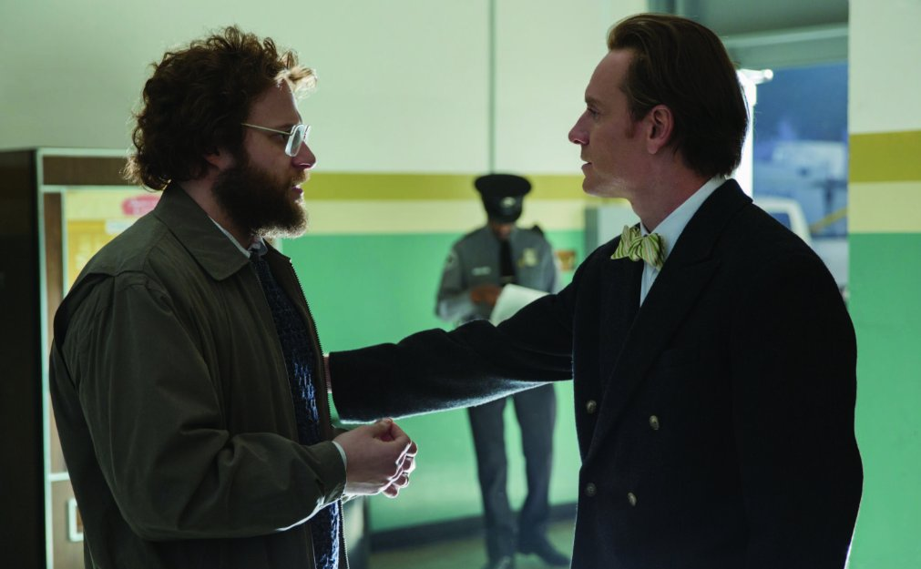 Rogen and Fassbender