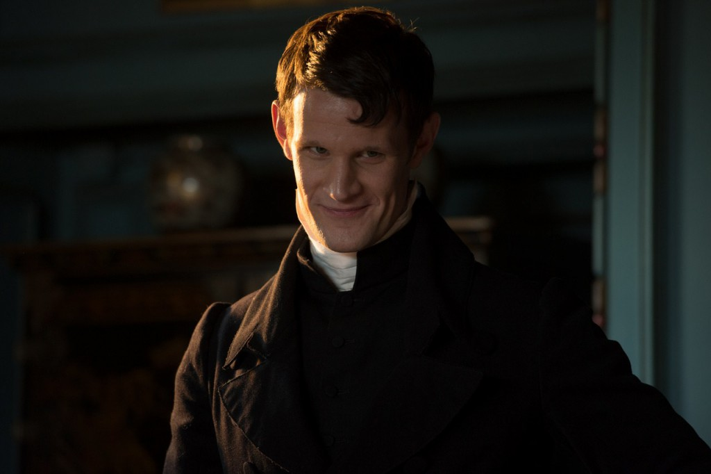Matt Smith as Parson Collins