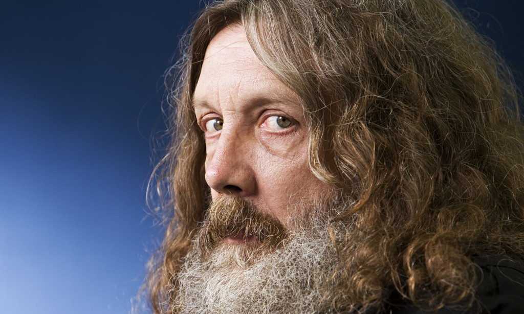 Alan Moore, a wholesome familyman