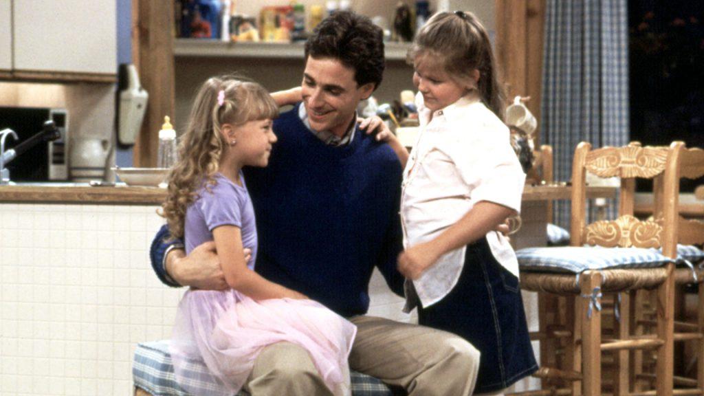 FULL HOUSE, Jodie Sweetin, Bob Saget, Candace Cameron, 1987-1995