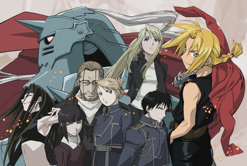 FMA characters