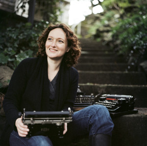 Mary Robinette Kowal.  Portland, Oregon, February 2012.