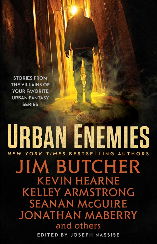 Urban Enemies editec by Joseph Nassise cover