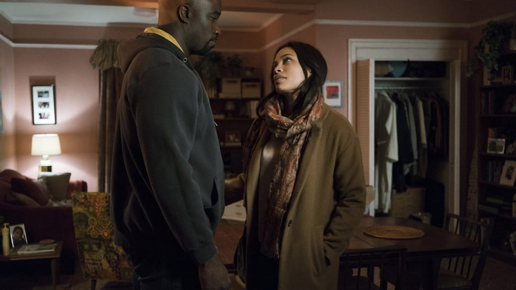 Luke Cage and Claire Templeton