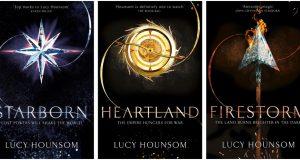 Worldmaker trilogy: Starborn, Heartland, Firestorm