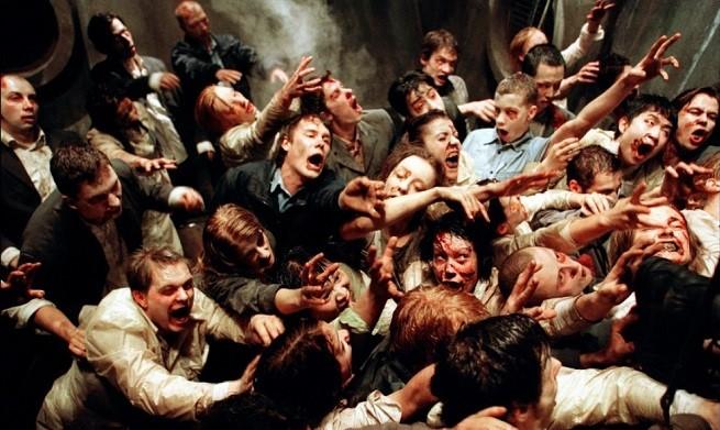 Resident Evil Zombie horde