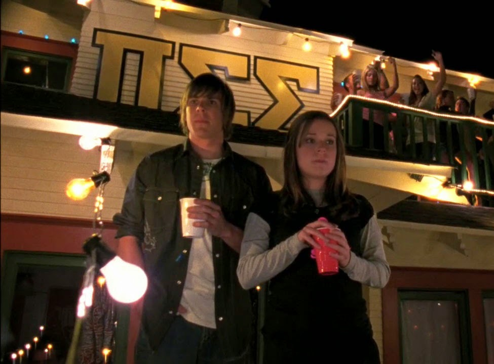 College drinking in Veronica Mars