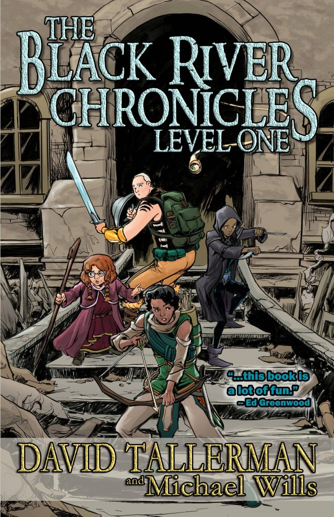 The Black River Chronicles: Level One large print cover