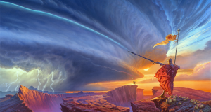 The Way of Kings Brandon Sanderson Cover Art